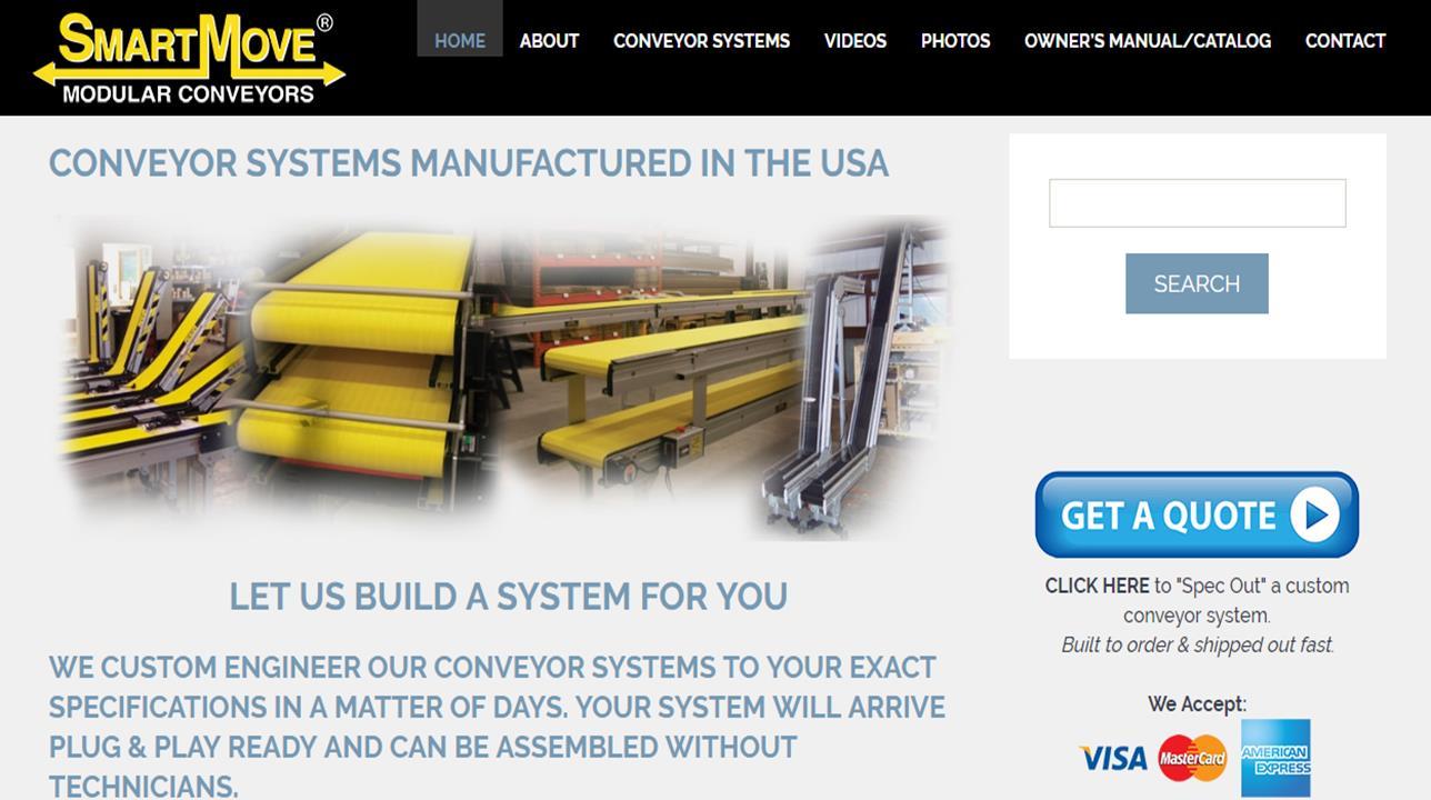 SmartMove® Modular Conveyors