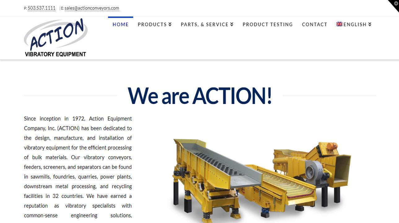 Action Equipment Company, Inc.