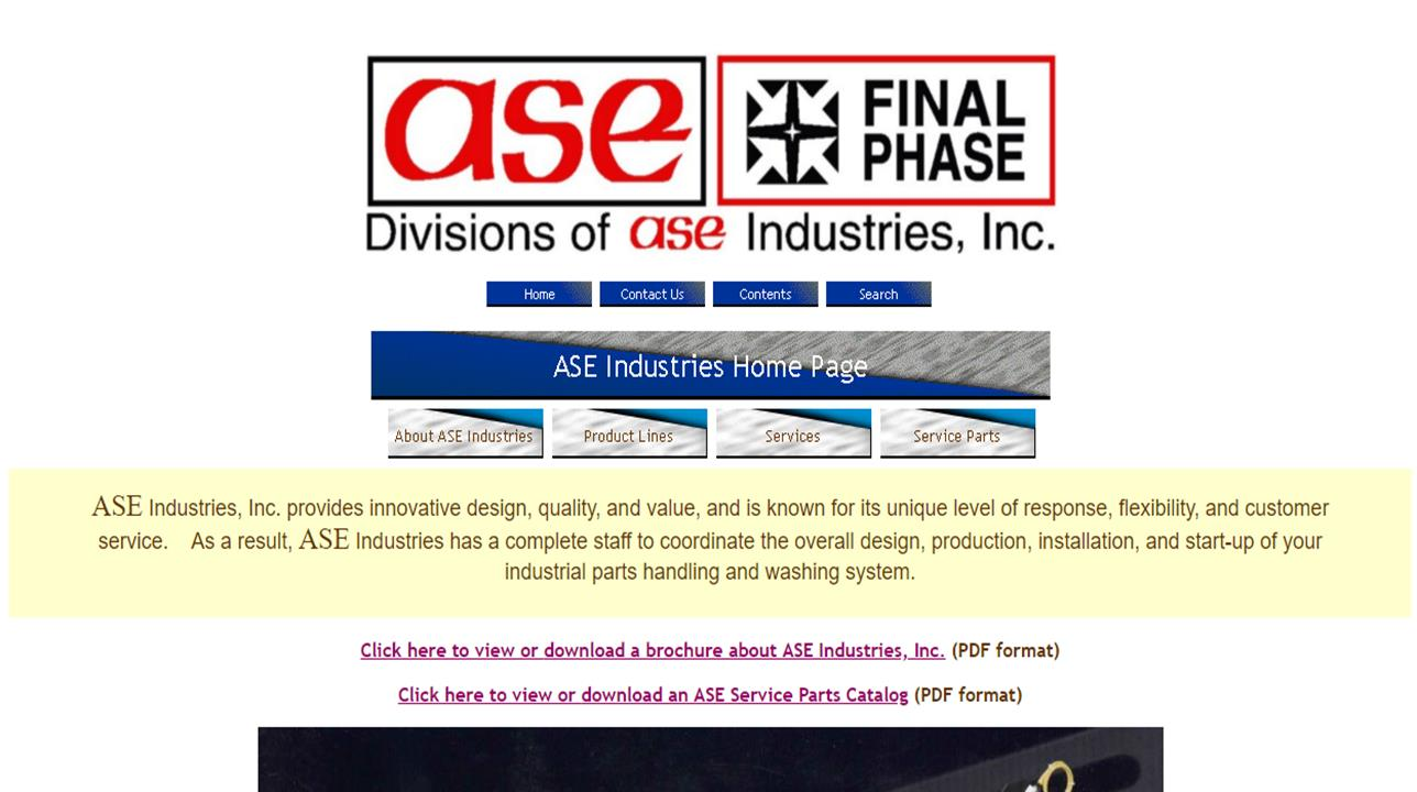 ASE Industries, Inc.