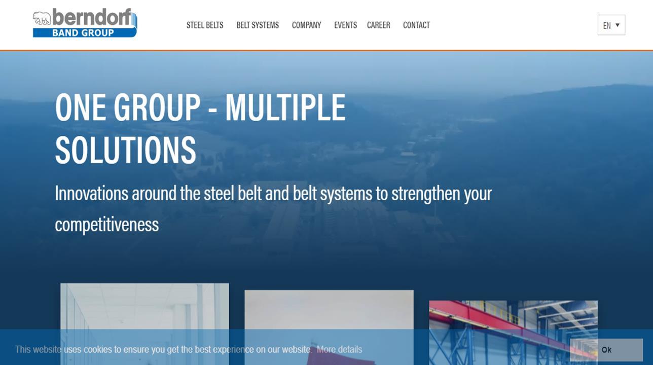 Berndorf Belt Systems USA