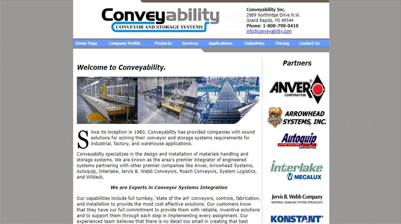 Conveyability, Inc.