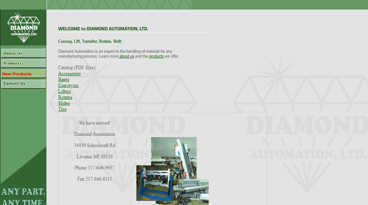 Diamond Automation, LTD.
