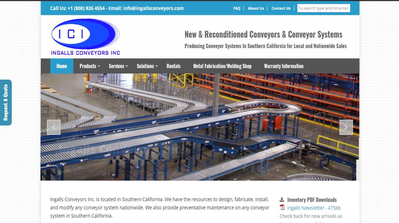 Ingalls Conveyors Inc.