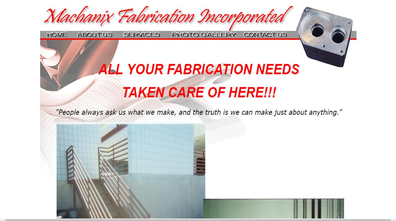 Machanix Fabrication Incorporated