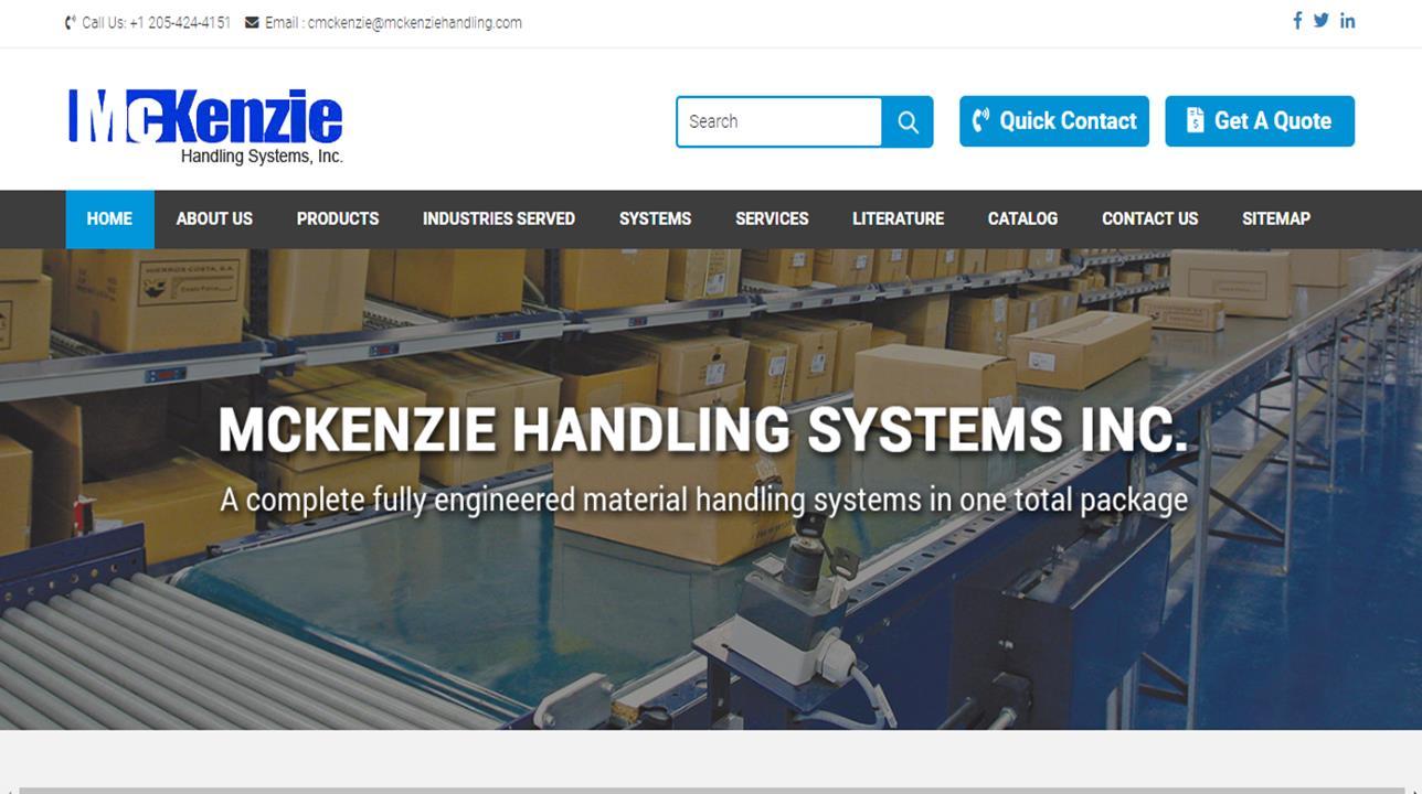McKenzie Handling Systems, Inc.