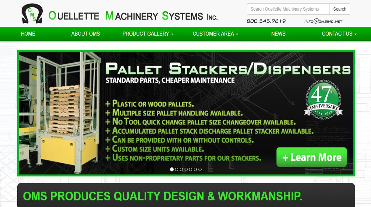 Ouellette Machinery Systems Inc.