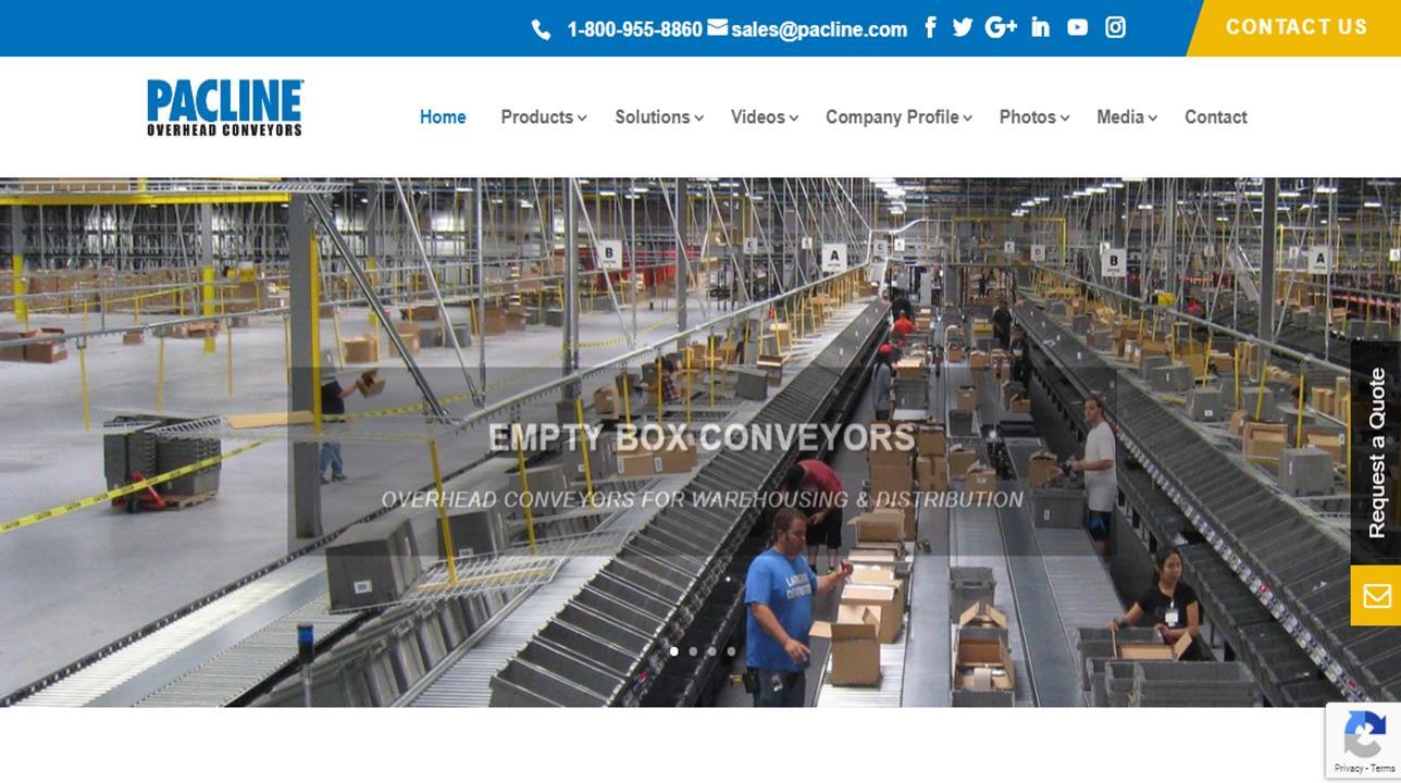 Pacline™ Overhead Conveyors
