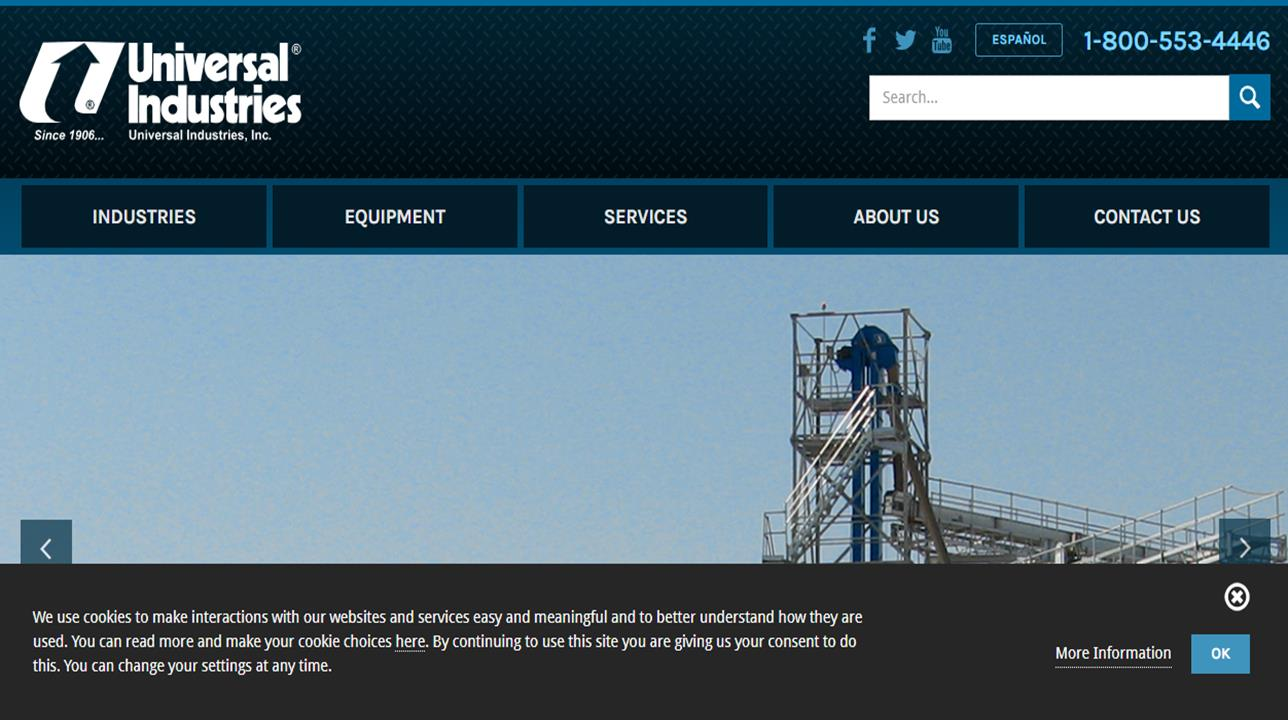 Universal Industries Inc.