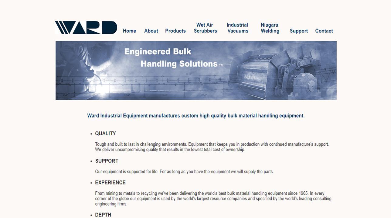 Ward Industrial Equipment Ltd.