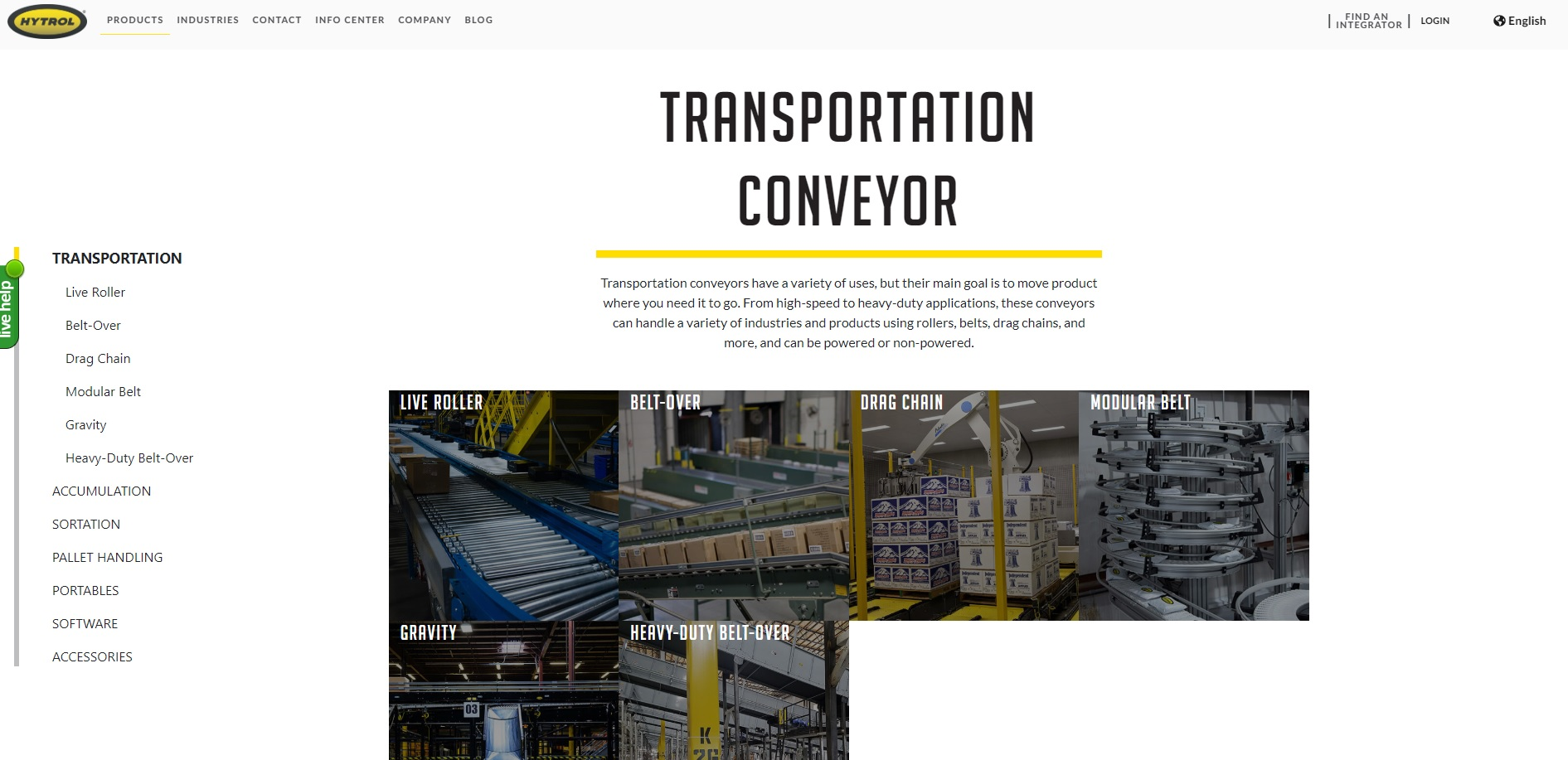 Texas Conveyors Manufacturers Conveyor Systems