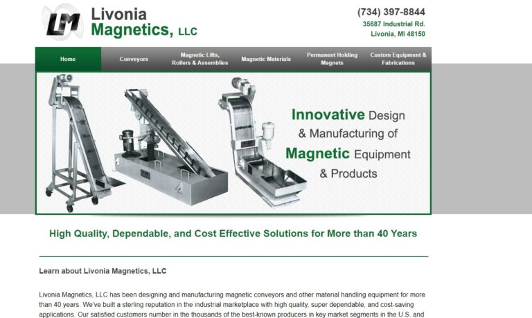 Livonia Magnetics Co., Inc.