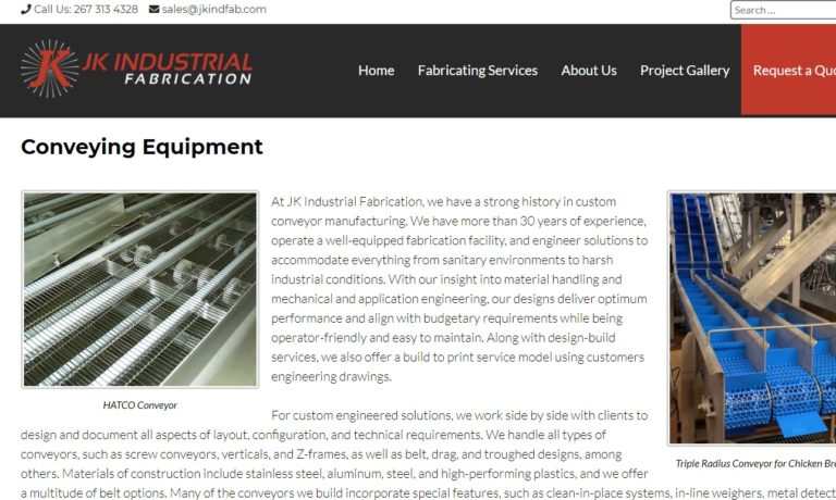 JK Industrial Fabrication