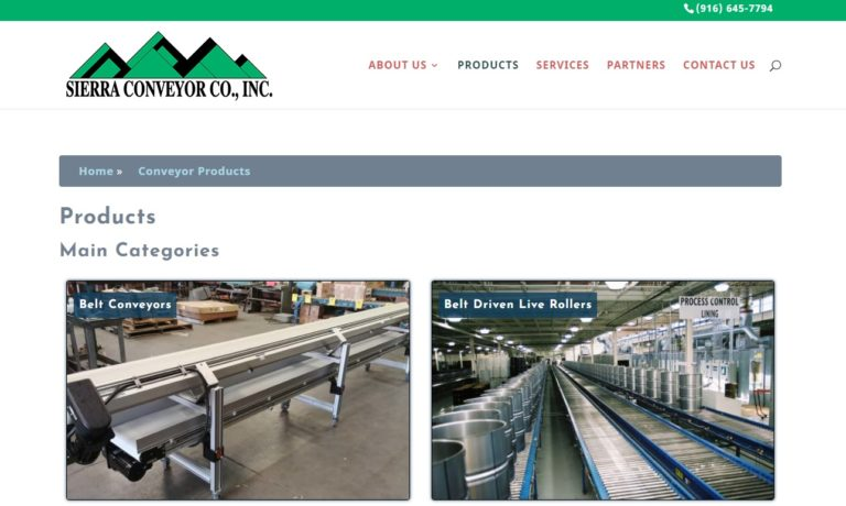 Sierra Conveyor Company, Inc.